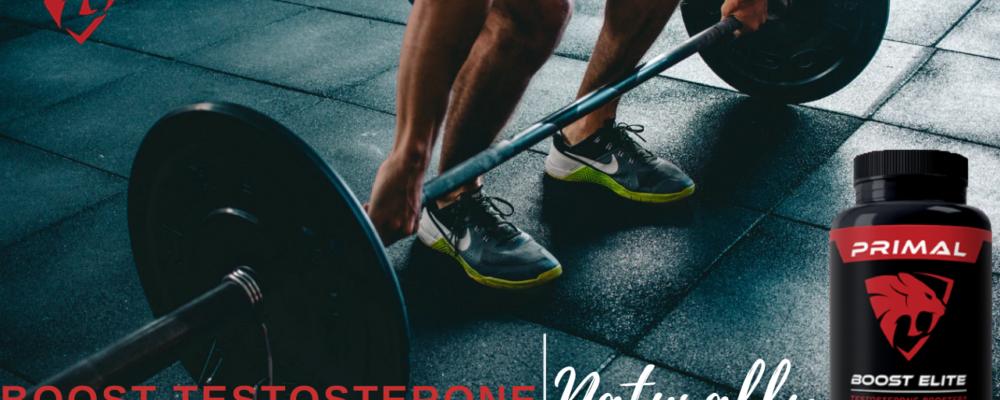 Primal Boost Elite: Natural Testosterone Boosting